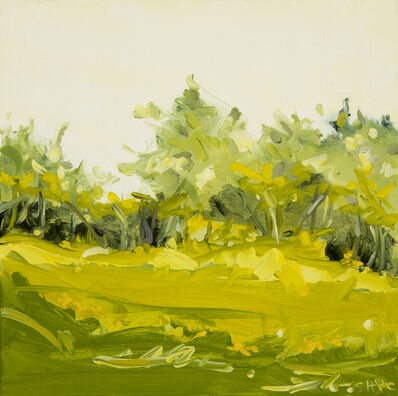 Susan Headley Van Campen, 'Yellow Morning in June with Buttercups (Where the Deer Hide)', 2021