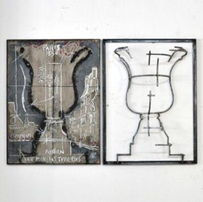 Juan Garaizabal, 'Wall Pattern Vase desTuileries  I', 2014