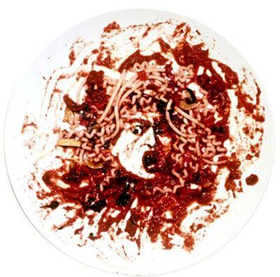Vik Muniz, 'Medusa Marinara (Caravaggio's Medusa)', 1999