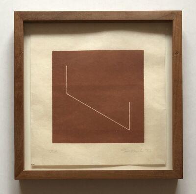 Fred Sandback, 'Untitled [from an untitled portfolio] ', 1977
