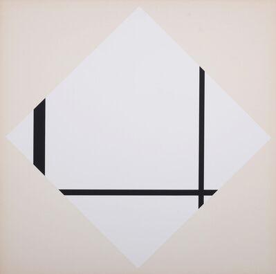Piet Mondrian, 'Fox Trot A (After)', 1927 (1967)