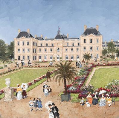 Fabienne Delacroix, 'Printemps au Jardin du Luxembourg', 2020