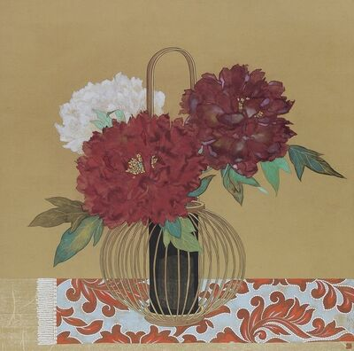 Hiroko Takeda (b. 1983), 'Scarlet Flowers', 2019