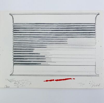 Donald Judd, 'Untitled (NY Collection for Stockholm)', 1973