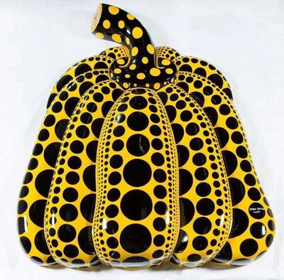 Yayoi Kusama, 'Carry on Living with the Pumpkins', 2014