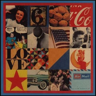Peter Blake, 'Sources of Pop Art I', 2000