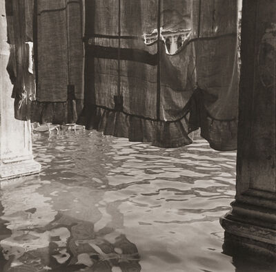 Bruce Cratsley, 'Curtain, St. Mark's Square (Alta Aqua), Venice', October 1980/1981