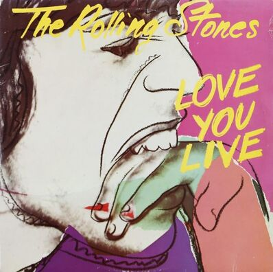 "Andy Warhol, 'The Rolling Stones / ""Love you Live""', 1977"