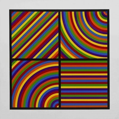 Sol LeWitt, 'Color Bands #2', 2000