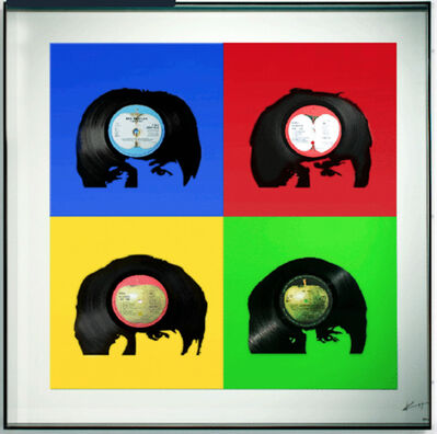 Keith Haynes, 'The Beatles - Fab Four Primary Colours', N/A