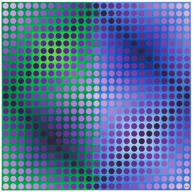 Victor Vasarely, 'Sende', 1972