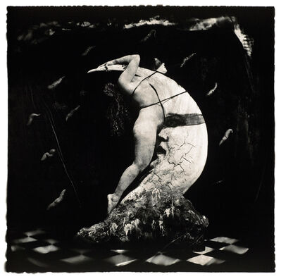 Joel-Peter Witkin, 'Woman Masturbating on the Moon, NM', 1982