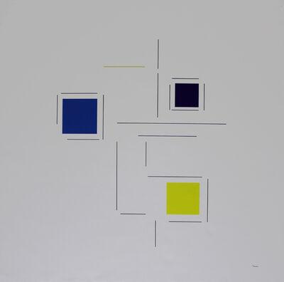 "Geneviève Claisse, '""Konkrete Komposition""', 2014"