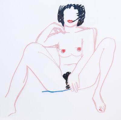 Tom Wesselmann, 'Monica Sitting with Legs Spread', ca. 1985-1997