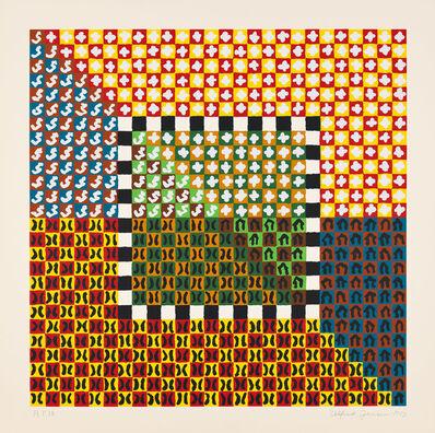 Alfred Jensen, 'Portfolio (Solar Years of 360 Days) (#2)', 1973