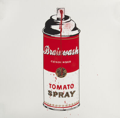 Mr. Brainwash, 'Tomato Spray', 2011