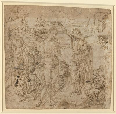 Pietro Perugino, 'The Baptism of Christ', ca. 1475