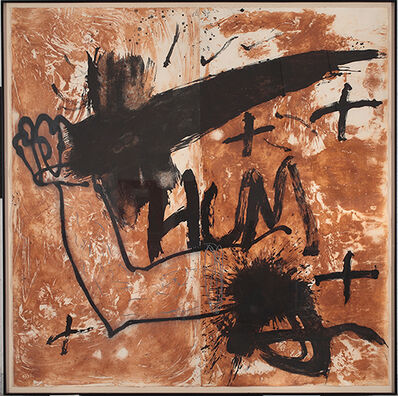 Antoni Tàpies, 'Untitled'