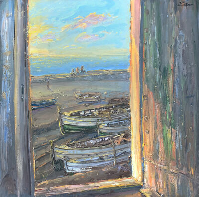 Bruno Zupan, 'Door by the Sea at Sunset', 2007