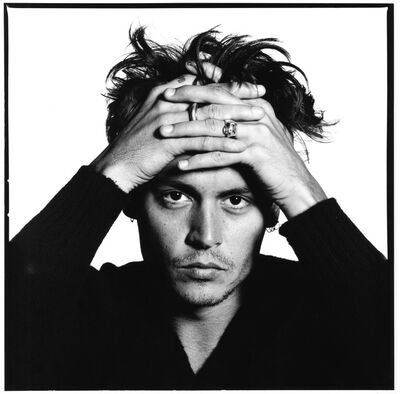 David Bailey, 'Johnny Depp', 1995