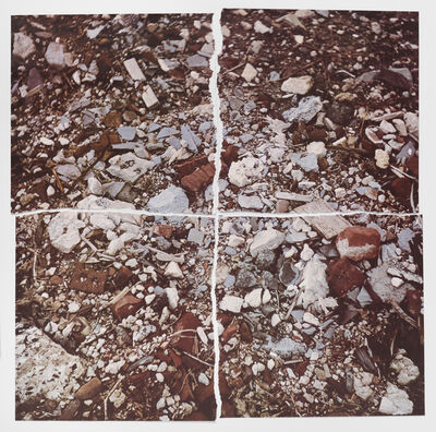 Robert Smithson, 'Torn Photograph from the Second Stop (Rubble): Second Mountain of Six Stops on a Section', 1970