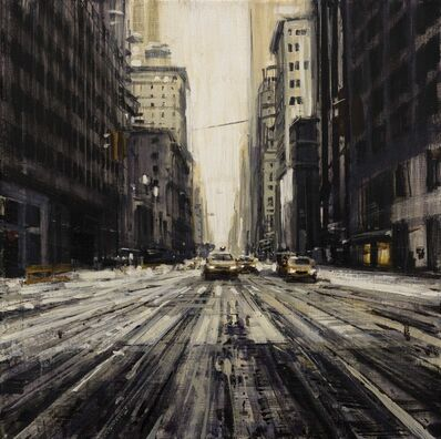Valerio D'Ospina, 'Snowy Street in NYC', 2018