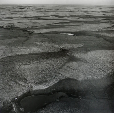 Terry Evans, 'Pond and Car, West of Minneapolis, Ottawa County', 1990