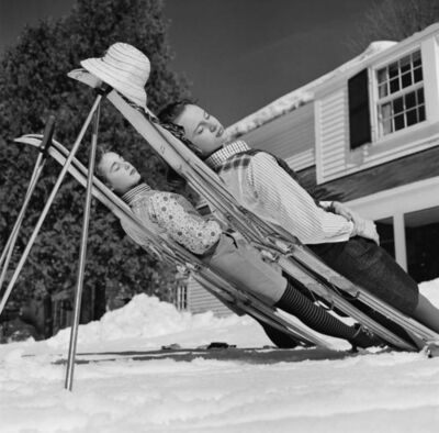 Slim Aarons, 'New England Skiing ', 1955