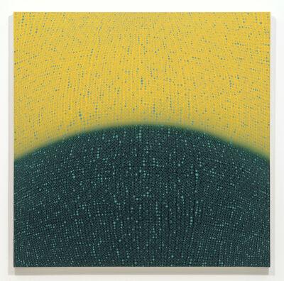 Teo Gonzalez, 'Arch Horizon - Hill 8 Painting', 2017