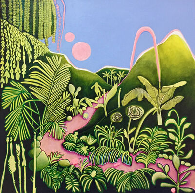 Ana Velasco, 'The geography of plants ', 2018