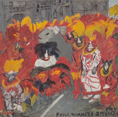 Justin McCarthy, 'Philadelphia Mummers', 1964