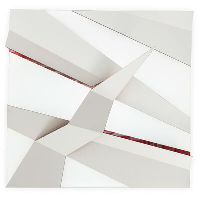 Juan Mejía, 'The Color of the Shadow No.1 - White-red', 2016