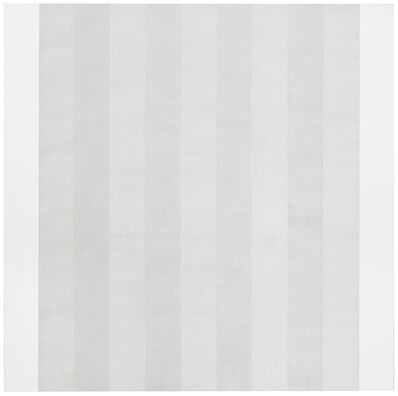Mary Corse, 'Untitled (White Multi Inner Bands, Flat Sides)', 2011