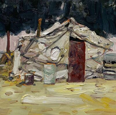Hung Liu 刘虹, 'Duster Shack 11', 2019