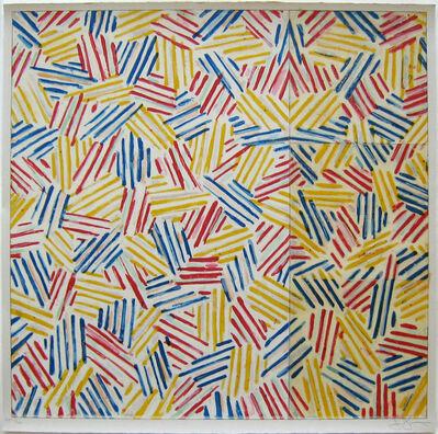 "Jasper Johns, '#6 (After ""Untitled 1975"")', 1976"