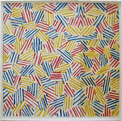 """Jasper Johns, '#6 (After """"Untitled 1975"""")', 1976"""