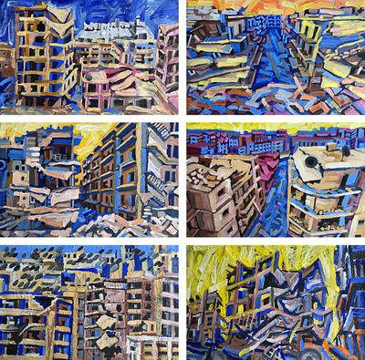 Tony Khawam, 'Aleppo Urban Landscapes No.15 (Bird-Eye View)', 2018