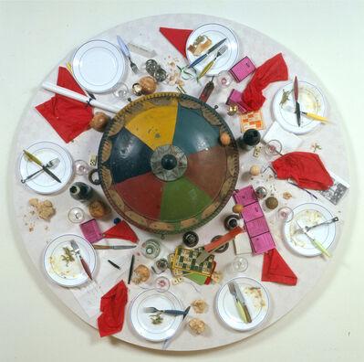 Daniel Spoerri, 'Restaurant Spoerri au Jeu de Paume 29. «Les oeufs sont faits IV.»', 2002