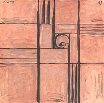 Francisco Matto, 'Constructivo rosa con caracol', 1967