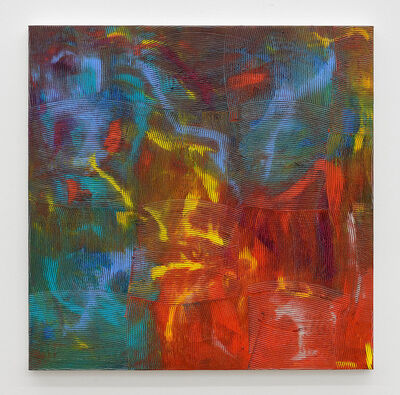 Dan Rees, 'Artex painting', 2018