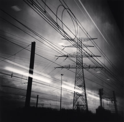 Michael Kenna, 'Thalys View, Brussels, Belgium', 2010