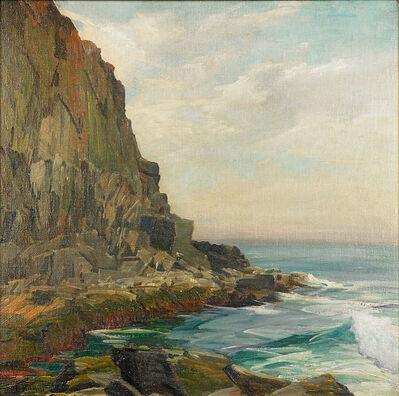 Gustave Cimiotti, 'Untitled (High Rocky Coastal Scene)'