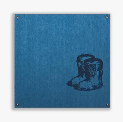 Sylvie Fleury, 'Chanel Yeti Boots (Black Edition)', 2019