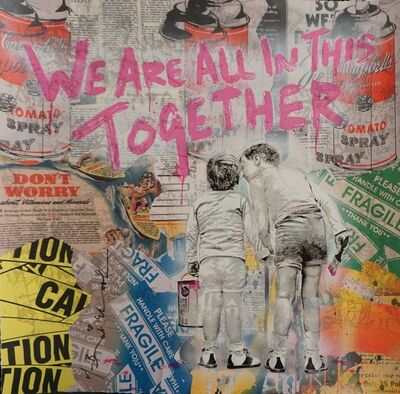 Mr. Brainwash, 'We Are All in This Together', 2020