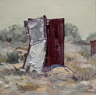 Hung Liu, 'Duster Shack 6', 2019