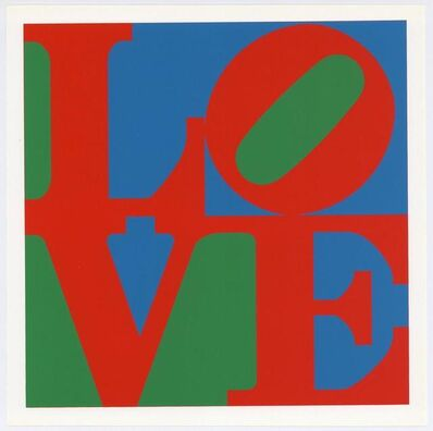 Robert Indiana, 'LOVE', 1971