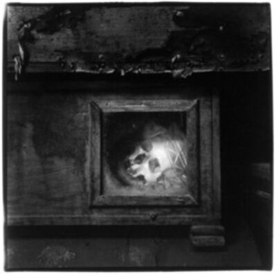 Peter Hujar, 'Palermo Catacombs #8 (Skull in Window)', 1963