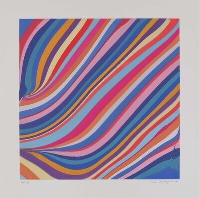 Ian Davenport, 'Morning', 2019