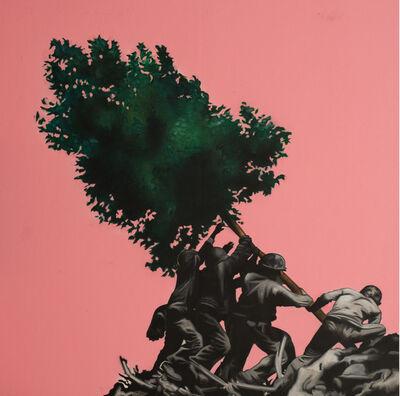 Hijack, 'Raising the Tree', 2019