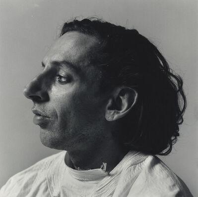 Peter Hujar, 'John Heys in Profile (White Shirt)', 1985